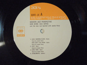 Donald Byrd, Gigi Gryce - Modern Jazz Perspective (LP-Vinyl Record/Used)