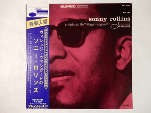 "Sonny Rollins A Night At The ""Village Vanguard"" Blue Note BST-81581"