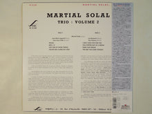 Load image into Gallery viewer, Martial Solal Trio - Vol. 2 (LP-Vinyl Record/Used)