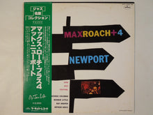 Load image into Gallery viewer, Max Roach - Max Roach + 4 At Newport (LP-Vinyl Record/Used)