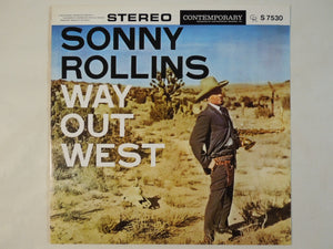 Sonny Rollins - Way Out West (LP-Vinyl Record/Used)