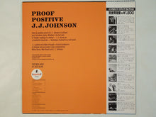Load image into Gallery viewer, J.J. Johnson - Proof Positive (LP-Vinyl Record/Used)