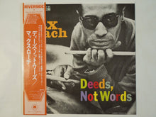 Load image into Gallery viewer, Max Roach - Deeds, Not Words (LP-Vinyl Record/Used)