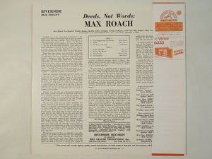 Max Roach - Deeds, Not Words (LP-Vinyl Record/Used)