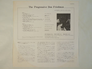 Don Friedman - The Progressive (LP-Vinyl Record/Used)