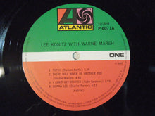 Load image into Gallery viewer, Lee Konitz, Warne Marsh - Lee Konitz With Warne Marsh (LP-Vinyl Record/Used)