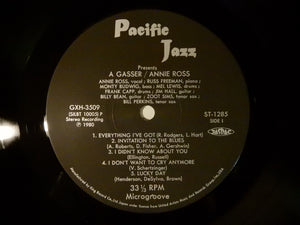 Annie Ross & Zoot Sims A Gasser! Pacific Jazz GXH-3509