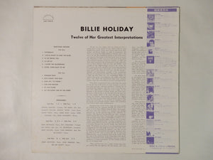 Billie Holiday Billie Holiday London Records LAX 3301