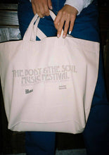 Load image into Gallery viewer, Solidity Records × The Project Archive 『The Body & The Soul 2 Way Canvas Tote Bag』
