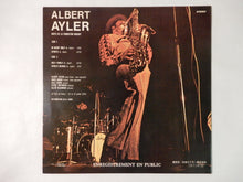 Load image into Gallery viewer, Albert Ayler Nuits De La Foundation Maeght Volume 1 RCA SHP-6201