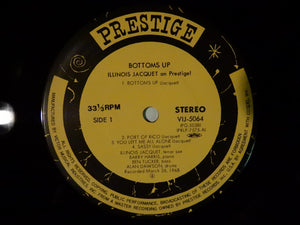 Illinois Jacquet Bottoms Up - Illinois Jacquet On Prestige! Prestige VIJ-5064