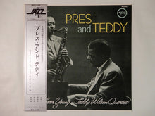 Load image into Gallery viewer, The Lester Young - Teddy Wilson Quartet Pres And Teddy Verve Records MV-1108