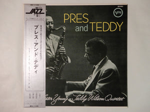 The Lester Young - Teddy Wilson Quartet Pres And Teddy Verve Records MV-1108