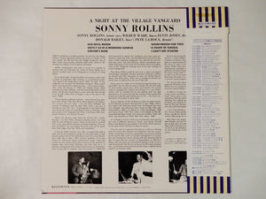 "Sonny Rollins A Night At The ""Village Vanguard"" Blue Note LNJ-70097"