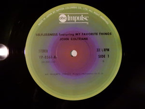 John Coltrane Selflessness Featuring My Favorite Things Impulse! YP-8561-AI
