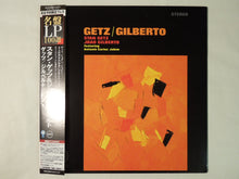 Load image into Gallery viewer, Stan Getz / João Gilberto Getz / Gilberto Verve Records UCJU-9068
