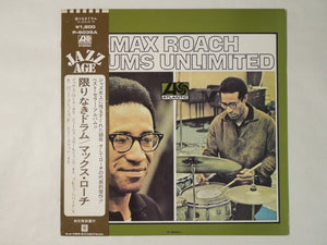 Max Roach Drums Unlimited Atlantic P-6035A