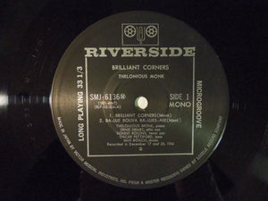 Thelonious Monk Brilliant Corners Riverside Records SMJ-6136