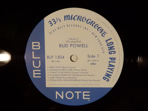 Bud Powell The Amazing Bud Powell, Volume 2  Blue Note / Toshiba EMI Japan BN1504