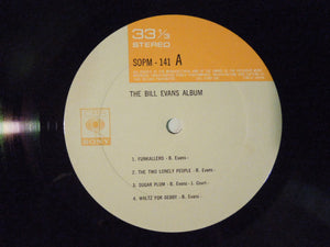 Bill Evans The Bill Evans Album CBS/Sony SOPM 141