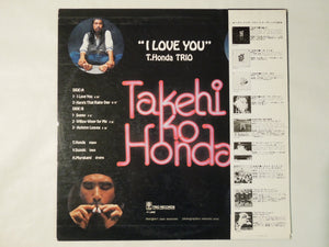 Takehiko Honda I Love You Trio Records PA-9721