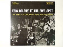 Load image into Gallery viewer, Eric Dolphy At The Five Spot, Volume 1 Prestige VIJ-210