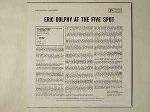 Eric Dolphy At The Five Spot, Volume 1 Prestige VIJ-210