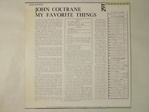 John Coltrane My Favorite Things Atlantic P-7505A