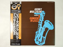 Load image into Gallery viewer, The Concert Jazz Band Gerry Mulligan Presents A Concert In Jazz Verve Records 18MJ 9023