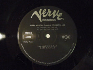 The Concert Jazz Band Gerry Mulligan Presents A Concert In Jazz Verve Records 18MJ 9023
