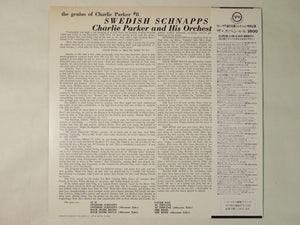Charlie Parker And His Orchestra Swedish Schnapps Verve Records 18MJ 9013