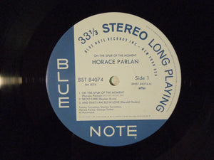 Horace Parlan Quintet On The Spur Of The Moment Blue Note BN 4074