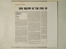 Load image into Gallery viewer, Eric Dolphy At The Five Spot, Volume I. Prestige SMJ-6572