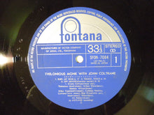 Load image into Gallery viewer, Thelonious Monk With John Coltrane Jazzland SFON-7084