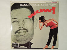 Load image into Gallery viewer, Cannonball Adderley Wow! Fontana SFON-7046