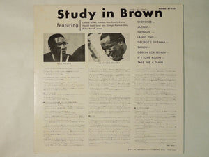 Clifford Brown And Max Roach Study In Brown Mercury BT-1321