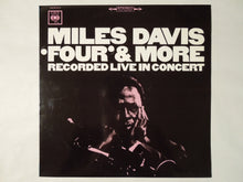 Load image into Gallery viewer, Miles Davis Four' & More Recorded Live In Concert CBS YS-612-C
