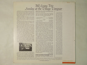 Bill Evans Trio Sunday At The Village Vanguard Riverside Records SMJ-6201