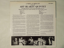 Load image into Gallery viewer, Art Blakey Quintet A Night At Birdland Volume 1 Blue Note GXF 3003