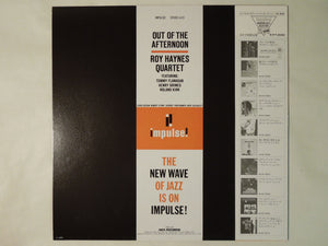 Roy Haynes Quartet Out Of The Afternoon Impulse! VIM-5568