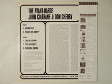 Load image into Gallery viewer, John Coltrane & Don Cherry The Avant-Garde Atlantic P-4545A