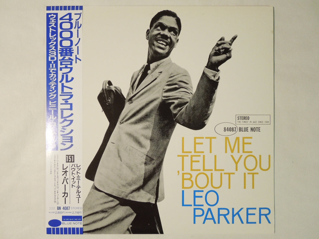Leo Parker Let Me Tell You 'Bout It Blue Note BN 4087