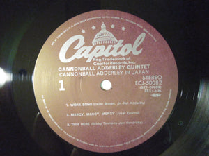 Cannonball Adderley Quintet Cannonball In Japan Capitol Records ECJ-50082