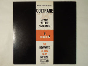 "John Coltrane ""Live"" At The Village Vanguard Impulse! IMP-88073"