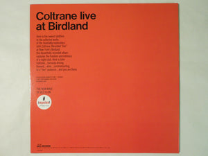 John Coltrane Live At Birdland MCA Records VIM-4622
