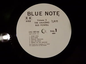 Bud Powell The Amazing Bud Powell, Vol. 3 - Bud! Blue Note LNJ-80146