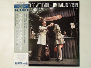 Jim Hall It's Nice To Be With You MPS Records UPS-2129-P