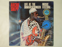 Load image into Gallery viewer, Archie Shepp Life At The Donaueschingen Music Festival MPS Records YS-2101-MP