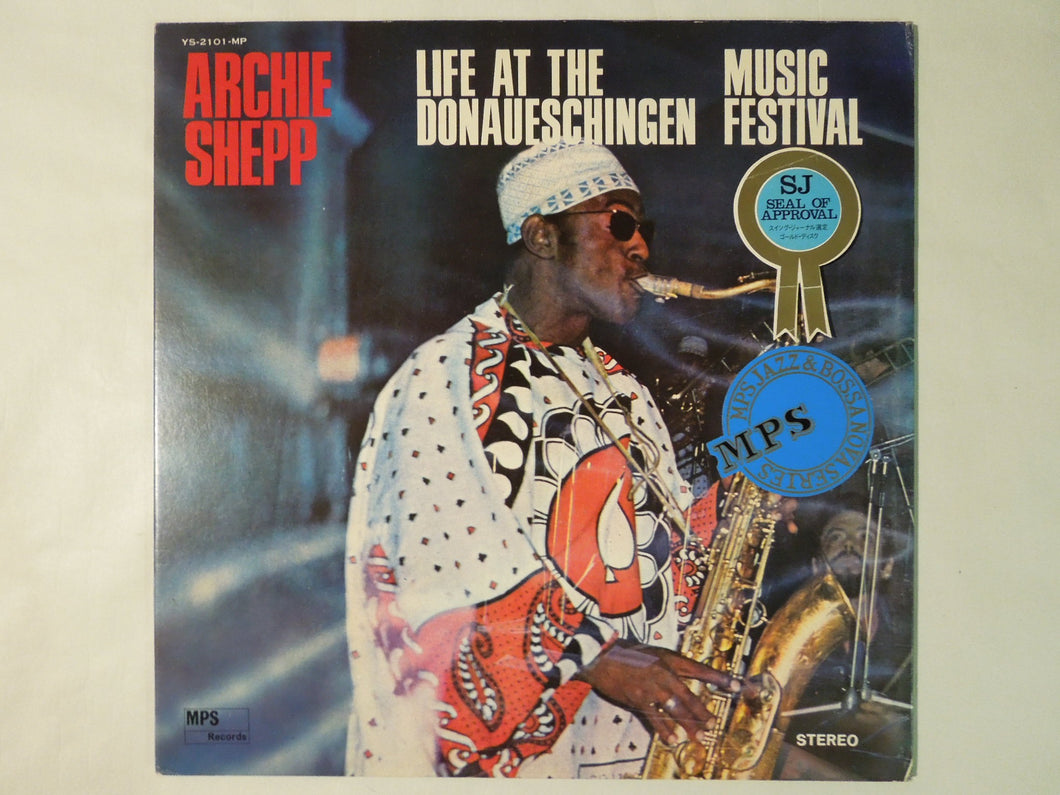 Archie Shepp Life At The Donaueschingen Music Festival MPS Records YS-2101-MP