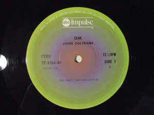 John Coltrane - Om (LP-Vinyl Record/Used)